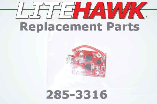 285-3316 - HIGH ROLLER MINI R1 - 2.4 GHz Receiver