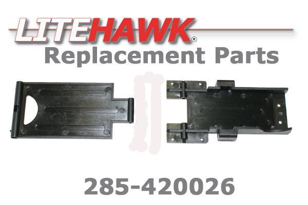 285-420026 Battery Cover and Lower Chassis
