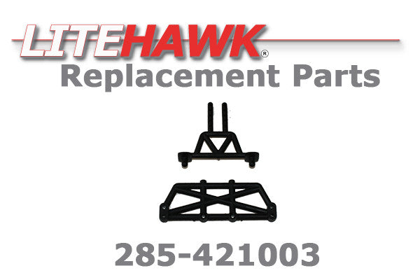 285-421003 Rear Shock Tower Braces
