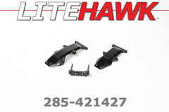 285-421427 OVERDRIVE - Lower suspension mounts/ toe blocks (Metal)