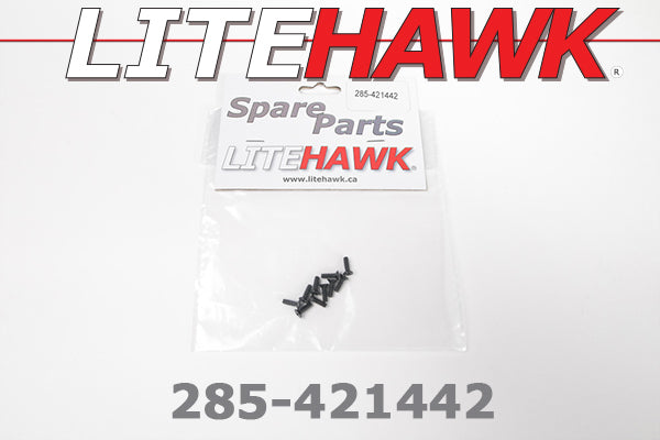 285-421442 OVERDRIVE - Screws 2.6×8 Counter Sunk Tapping