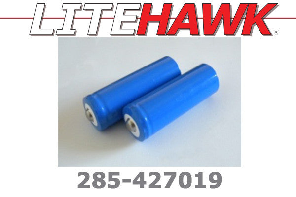 285-427019 M chassis - 3.7V 1100mah Batteries (2pcs)