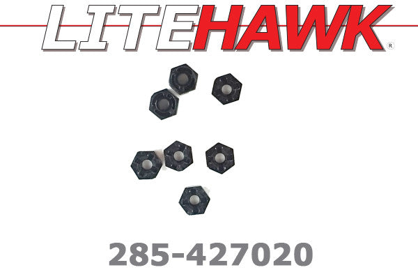 285-427020 M Chassis - Wheel Hex Nuts