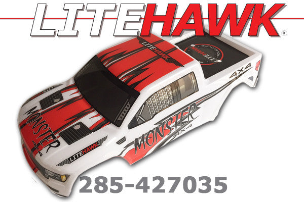 285-427035 M Chassis - Body Red/White