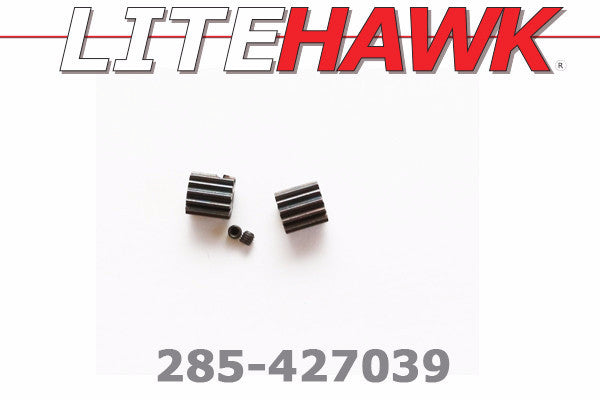 285-427039 M Chassis - Motor Pinion Gears 12T and set screws