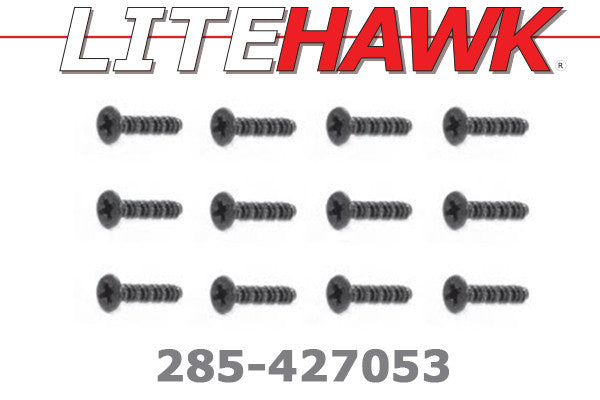 285-427053 M Chassis - Round Head Screw 12pcs
