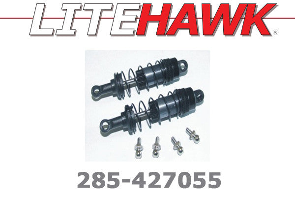 285-427055 M Chassis - UPGRADE Rear Aluminum Shock Set