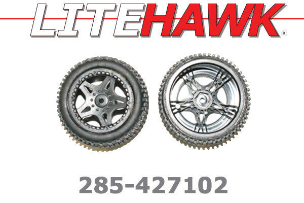 285-427102 M Chassis - (2pc) Rear Wheel