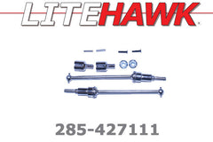 285-427111 M Chassis - Rear Dogbones/Shafts/Cups/Nuts/Screws