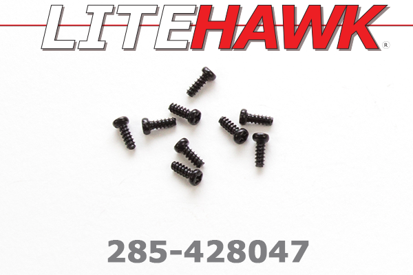 285-428047 C-Chassis - Screws ( 2.3 x 6KBHO )