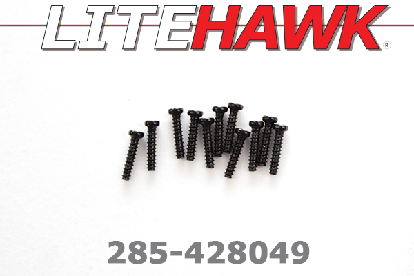 285-428049 C-Chassis - Screws ( 2.3 x 10PBHO )
