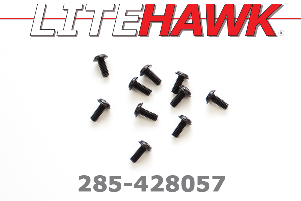285-428057 C-Chassis - Screws ( 2.5 x 6 x 5PWMHO )