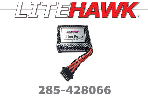 285-428066 C Chassis - Battery Blk Plug 6 Wire ( 9.6V 800mAh )