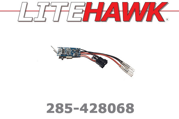285-428068 C Chassis - ESC for Blk Plug 6 Wire