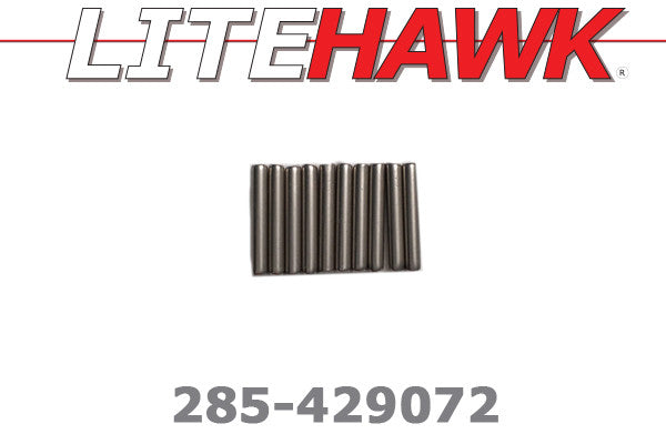 285-429072 B-Chassis Wheel Hex Pins