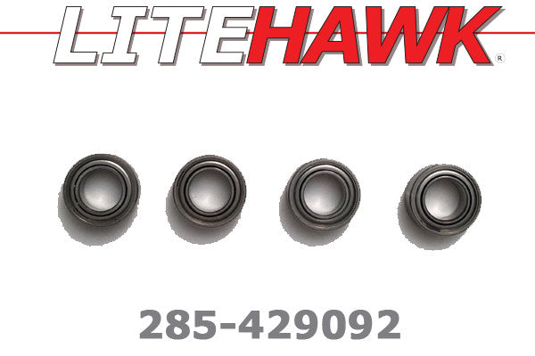 285-429092 B-Chassis Ball Bearings 5x9x3mm (Front Hubs)