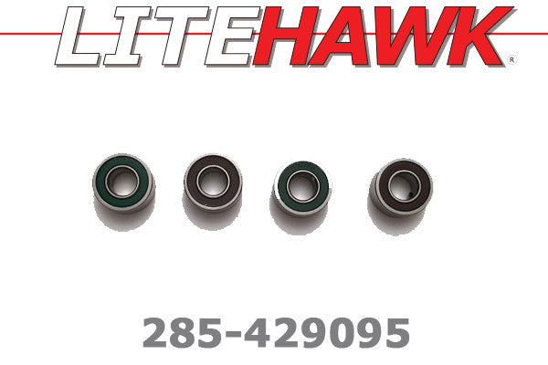285-429095 B-Chassis Ball Bearings 5x11x4mm (Rear Axle)