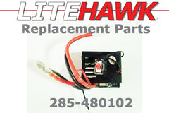 285-480102 2.4Ghz Receiver/ESC for NIMH Battery