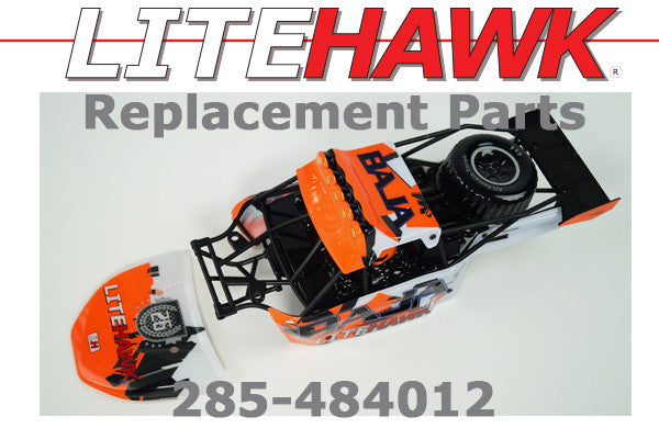 285-484012 - BAJA Body Set Orange