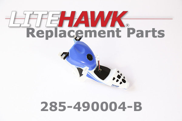 285-490004-B APEX Main Body w/ Seat and Tank in Blue