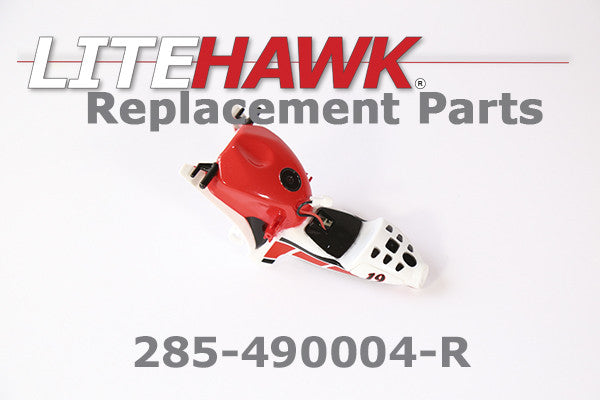 285-490004-R APEX Main Body w/ Seat and Tank in Red