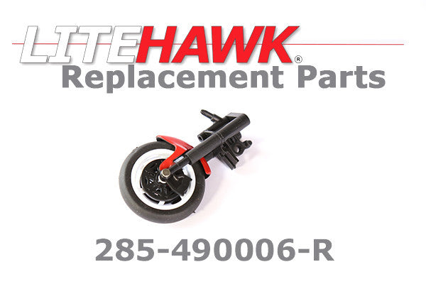 285-490006-R APEX Front Fork Assembly in Red