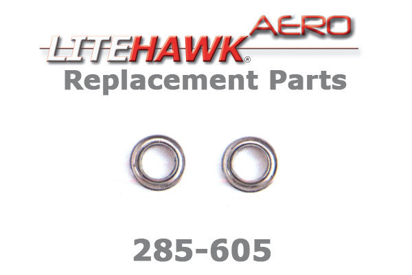 285-605 AERO Rotor Assy. Bearings
