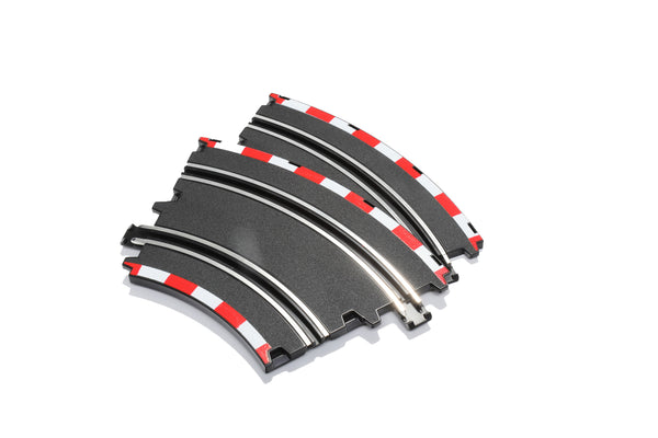 285-684013 CIRCUIT - New Style Double Lane Curve Track (2 pcs) For all CIRCUIT Sets (except LAGUNA & BROOKLANDS)