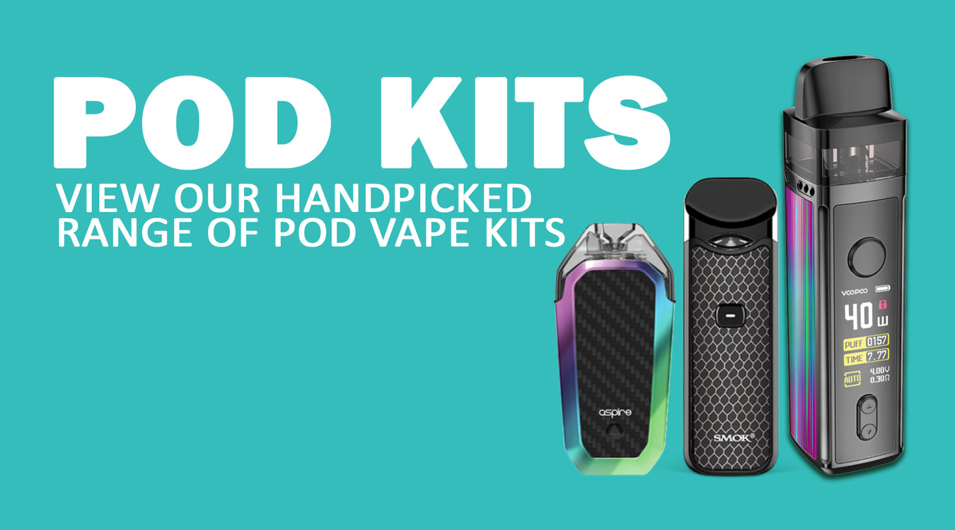 Nic salt Pod Kits uk i love vapour