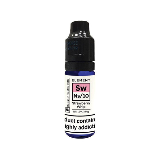 ELEMENTS STRAWBERRY WHIP NIC SALT 10MG - I Love Vapour nic salts element