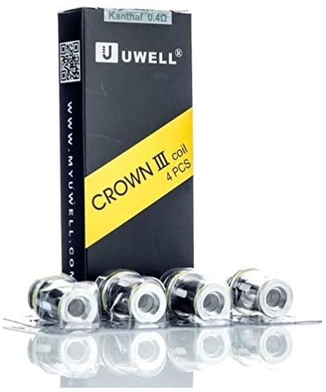 Uwell Crown 3 Replacement Coils 0.25 - I Love Vapour  I Love Vapour
