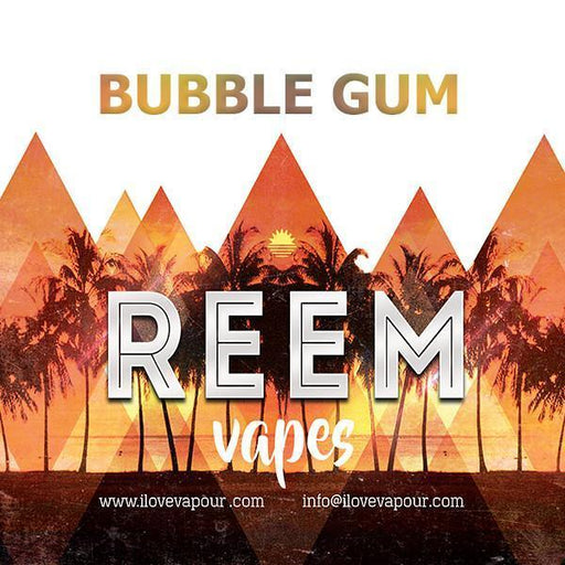 bubblegum Premium E juice By Reem Vapes - I Love Vapour
