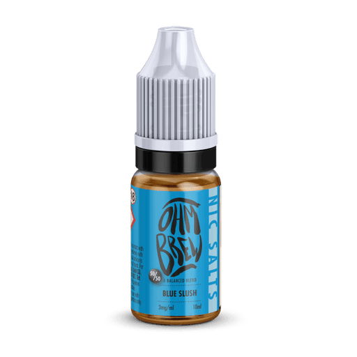 BLUE SLUSH NIC SALT BY OHM BREW - I Love Vapour nic salts I Love Vapour