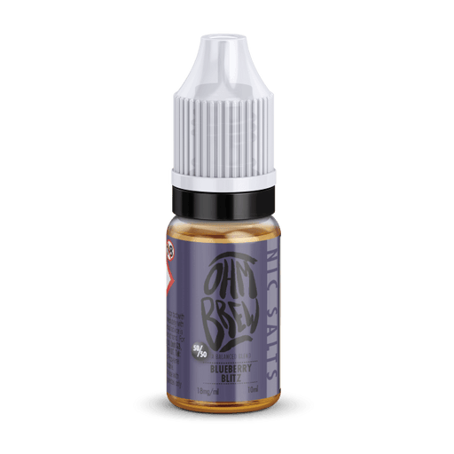 BLUEBERRY BLITZ NIC SALT BY OHM BREW - I Love Vapour nic salts I Love Vapour