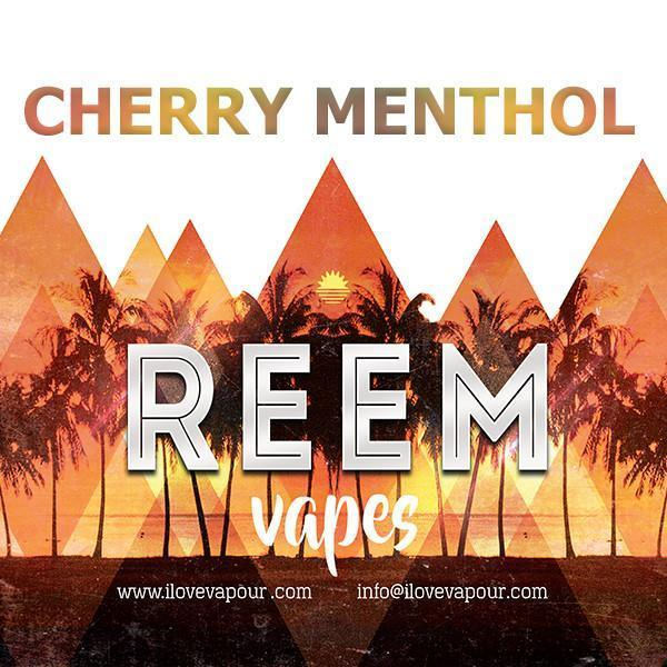 Cherry Menthol Premium e juice by Reem vapes