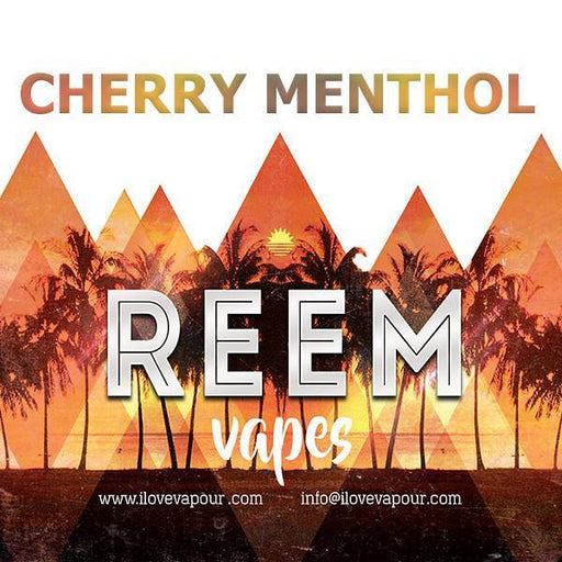 Cherry Menthol Premium e juice by Reem vapes - I Love Vapour