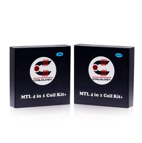 Coilology 4 in 1 performance coil pack - I Love Vapour coils coilology