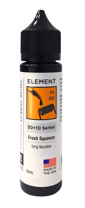 ELEMENTS 50ML FRESH SQUEEZE - I Love Vapour