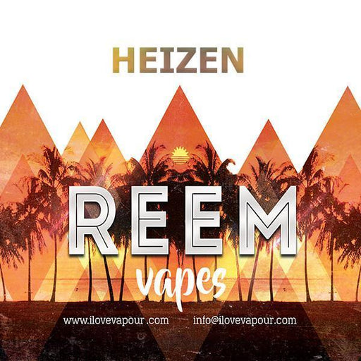 Heizen Premium E juice By Reem Vapes - I Love Vapour E-Juice reem