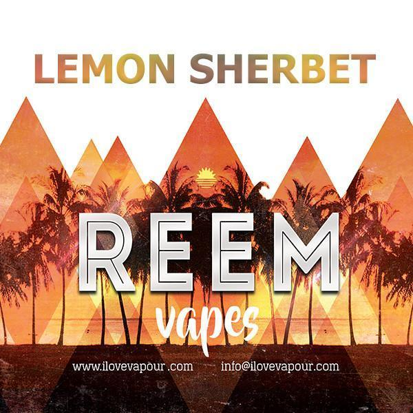 Lemon Sherbet Premium E juice by Reem Vapes