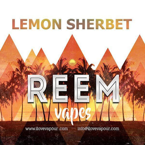 Lemon Sherbet Premium E juice by Reem Vapes - I Love Vapour