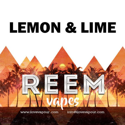 Lemon & Lime Premium E juice By Reem Vapes - I Love Vapour E-Juice reem