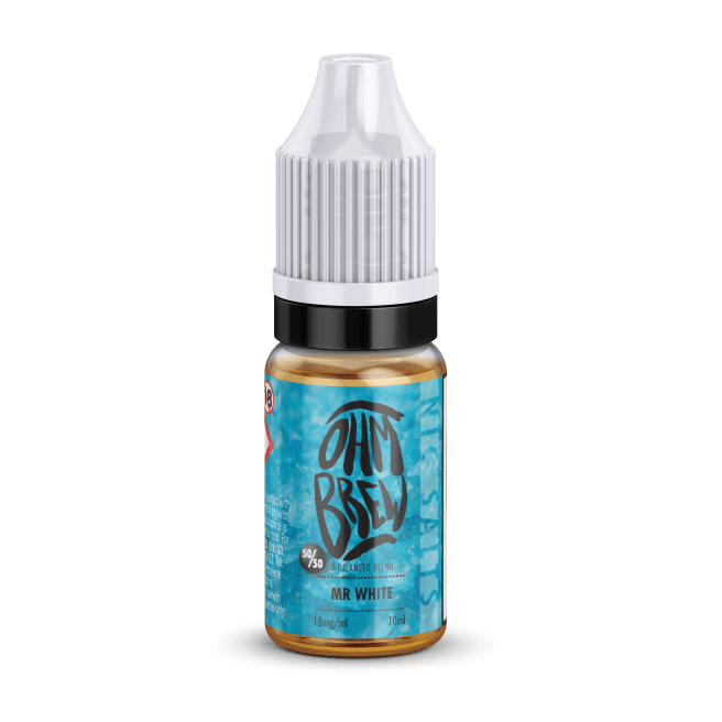 MR WHITE NIC SALT BY OHM BREW - I Love Vapour nic salts I Love Vapour