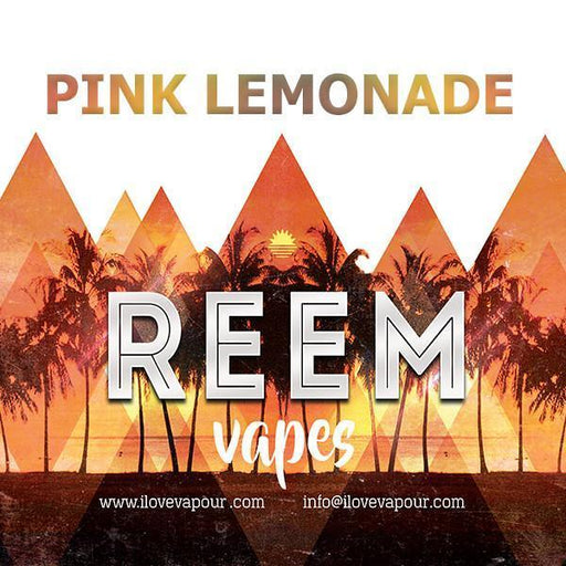 Pink Lemonade Premium E juice By Reem Vapes - I Love Vapour E-Juice reem