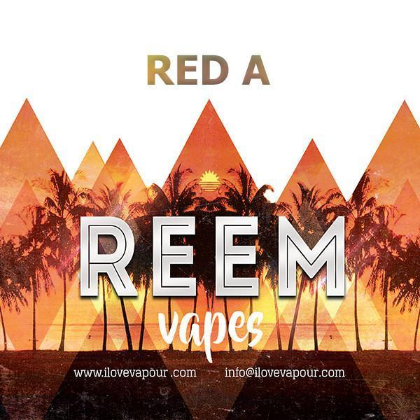 Red A Premium E juice By Reem Vapes