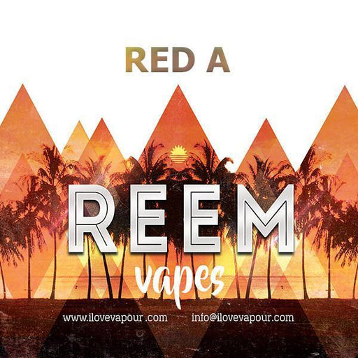 Red A Premium E juice By Reem Vapes - I Love Vapour