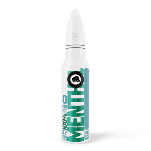 100% MENTHOL - ICE E-Liquid 50ml Short Fill - I Love Vapour E-Juice riot squad