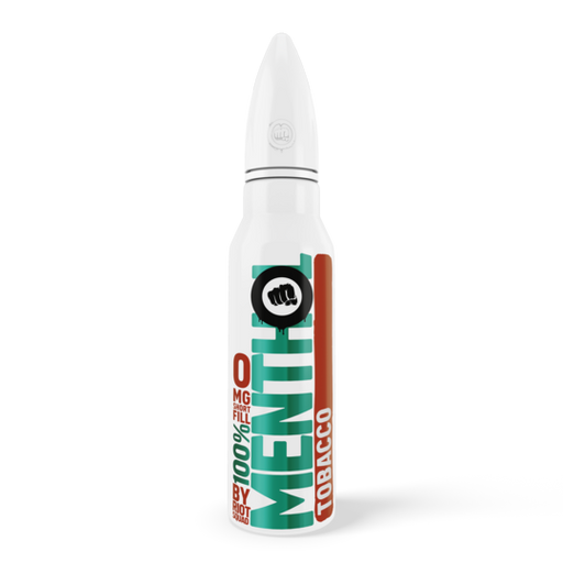 100% MENTHOL - TOBACCO E-Liquid 50ml Short Fill - I Love Vapour E-Juice riot squad