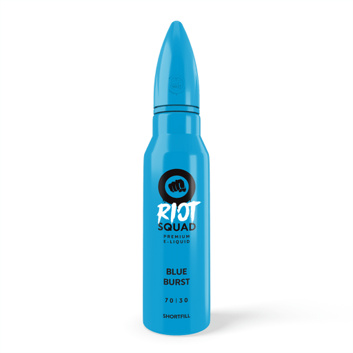 RIOT SQUAD SHORTFILL - BLUE BURST - 50ML 0MG - I Love Vapour E-Juice riot squad