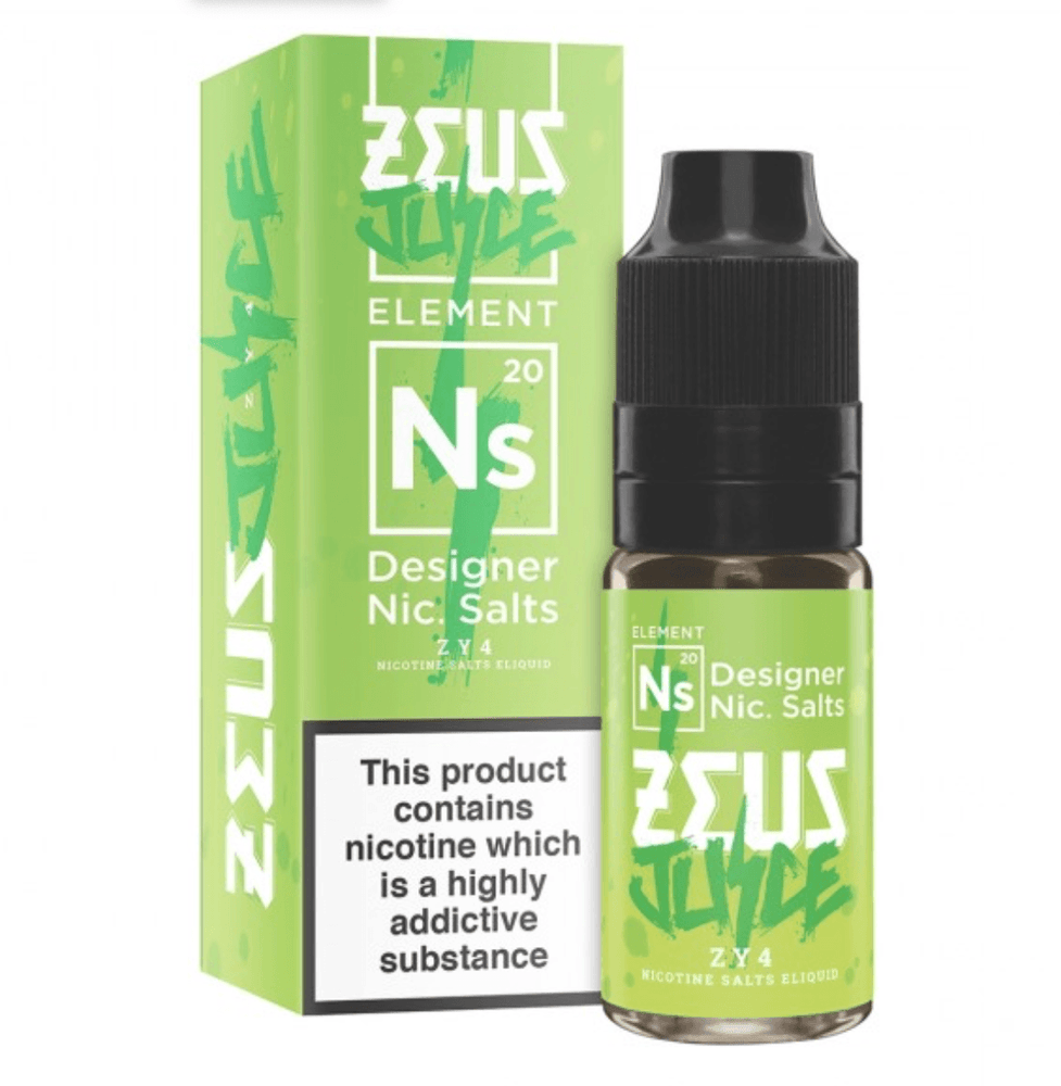 ZY4 Salt by Zeus Juice - I Love Vapour  I Love Vapour